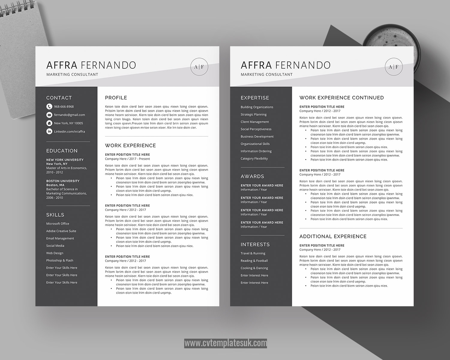resume templates uk  u2013 cvtemplatesuk com