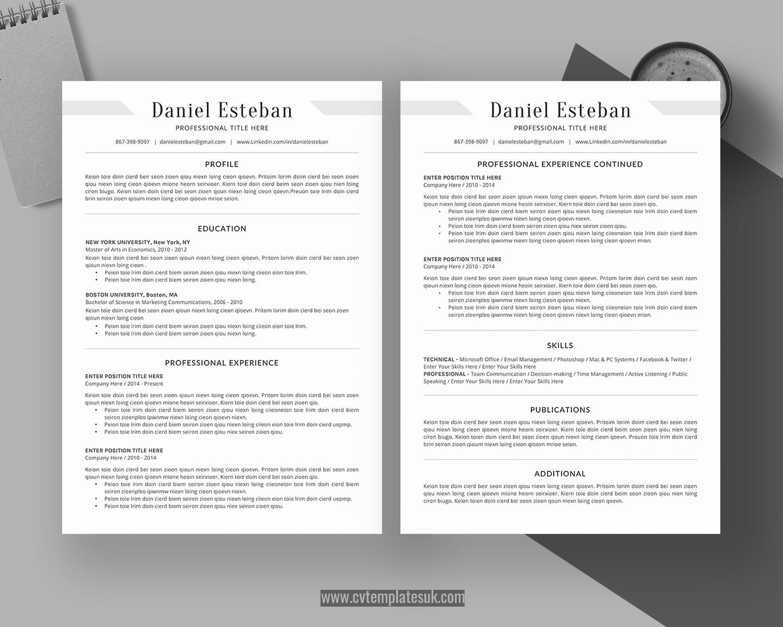 Student CV Template, MS Word CV Format, Professional Resume In College Student Resume Template Microsoft Word