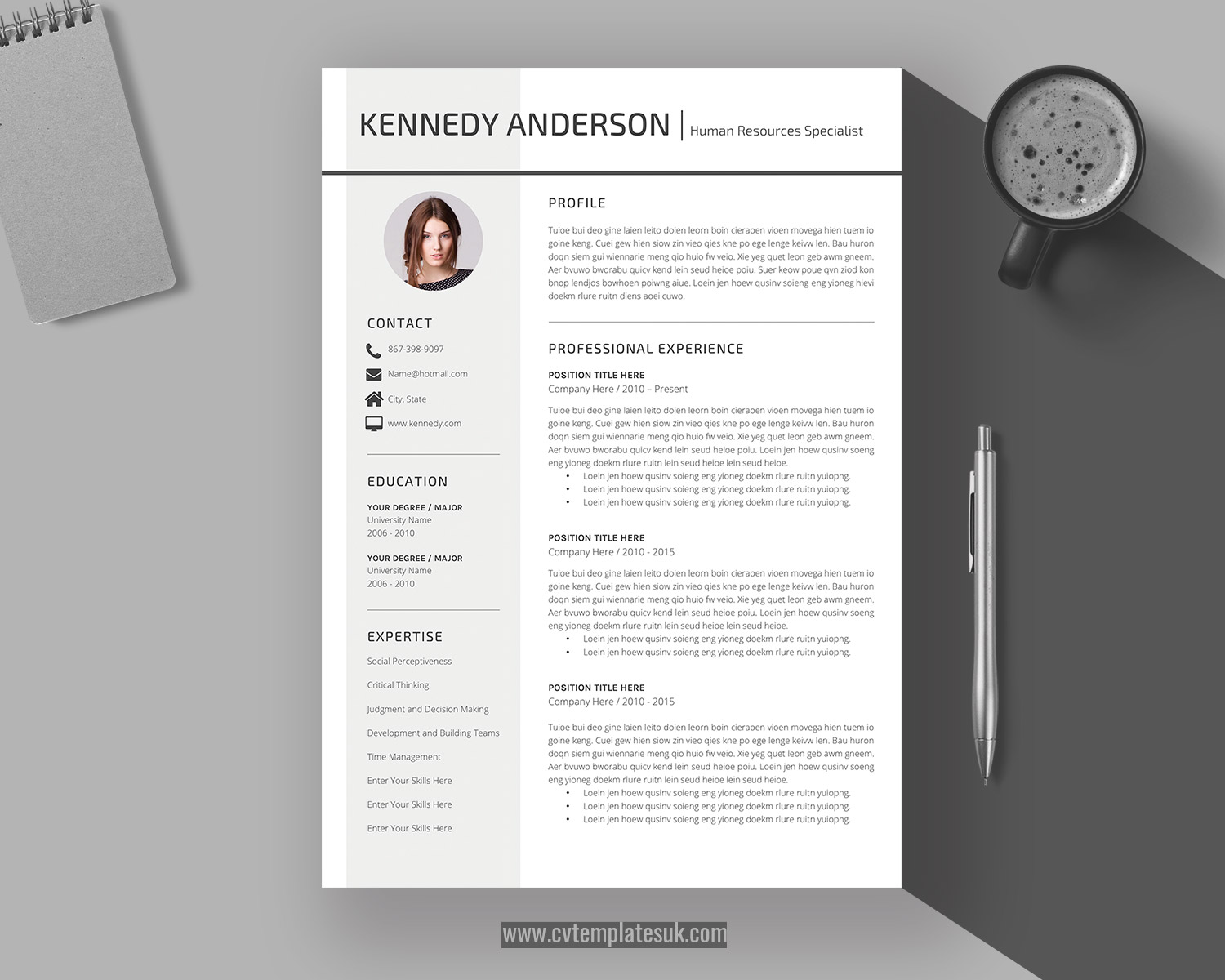 Modern Resume Design for Word cover letter Instant Download Modern Resume Template icons SALE on 2 or more 1+2 page resumes